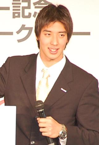 トークショーに出席した藤井拓郎選手