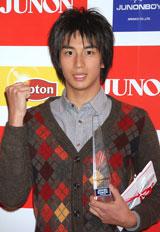 『第21回ジュノン・スーパーボーイ・コンテスト』でグランプリを授賞した東京都出身17歳の市川知宏さん
