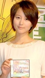アニメ映画化が決定したゲーム『レイトン教授』で主演声優を務める堀北真希