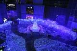 カレッタ汐留のクリスマスイルミネーション「BLUE OCEAN」
