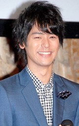 「NHKオンデマンド」オープニングセレモニーに出席した妻夫木聡