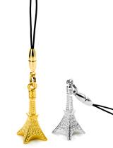 純金・シルバーを使用した、ゴージャスな東京タワー携帯ストラップ