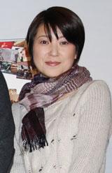映画『40歳問題』完成披露試写会に出席した新田恵利