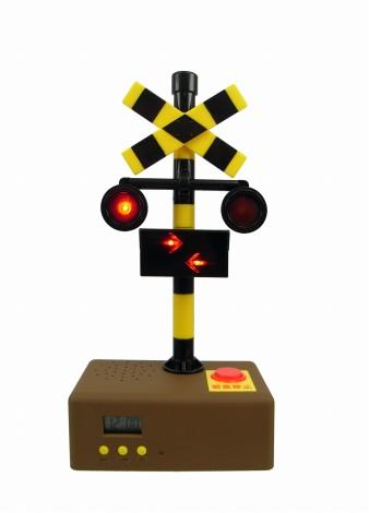 閃光灯と進行方向示唆矢印、点灯の様子