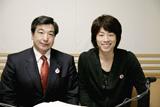 天敵の(!?)PTA関係者と対談したロンドンブーツ1号2号の田村淳(右)