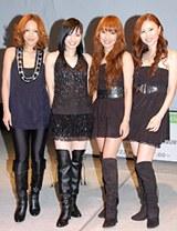 MAX(左からLINA、MINA、REINA、NANA)
