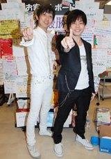 漫才日本一の称号を手に入れたNON STYLE【2008年12月25日撮影】