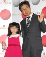 紅白が最後の活動になることを発表した藤巻氏と大橋のぞみ。大橋は「ちょっと寂しいです……」