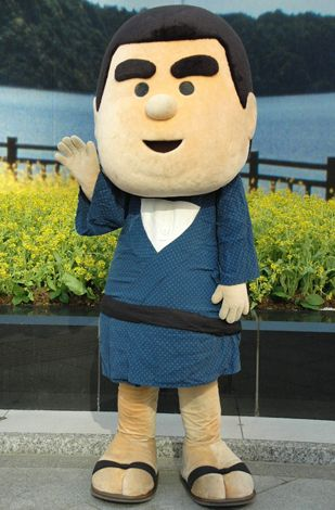 JA鹿児島県経済連のイメージキャラクター「おいどんくん」