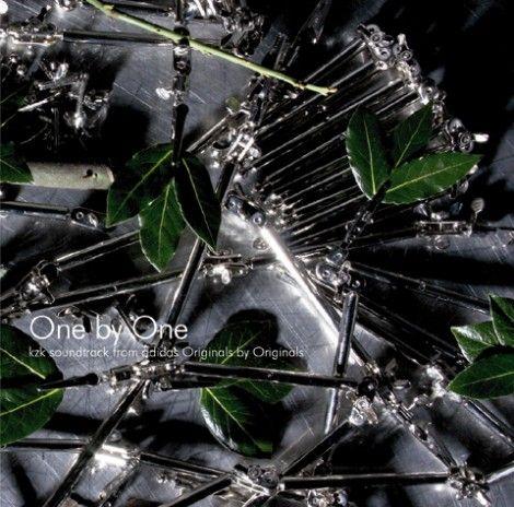 ジャケットデザインも秀逸『One by One kzk soundtrack from adidas Originals by Originals』