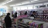 コミックレンタルの試験導入を行っているampm市川南八幡4丁目店(千葉県市川市)