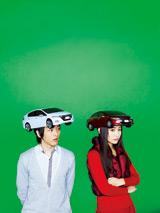 webムービー『あるひ突然 グリーンマシーン』(左:中村倫也、右:山崎真実)