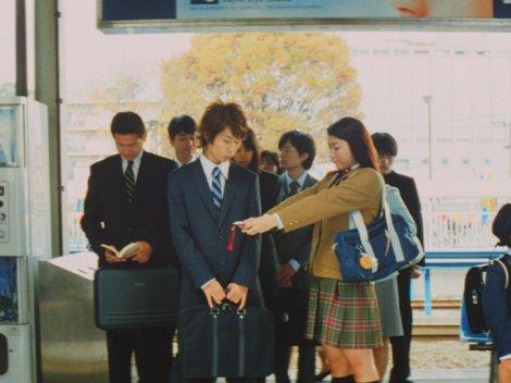 成海璃子が出演するクラレ社のCM『お守り』篇のワンシーン