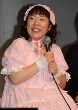 映画『ララピポ』(2月7日公開)のイベントに登場したお笑いトリオ森三中の村上知子