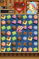 チョコレートを題材にしたパズルゲーム『ChocChoc Pop lite』