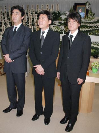 (左から)おりも政夫、江木俊夫、北公次