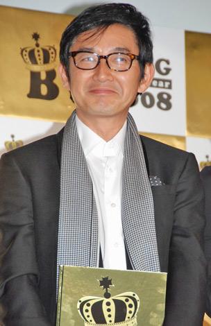 『BLOG of the year 2008』の特別賞を受賞した石田純一