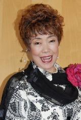 映画『ホルテンさんのはじめての冒険』の公開記念トークイベントに出席した歌手の秋元順子