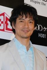 『Woooケータイ H001』3Dプレミア上映会にゲストとして登場した沢村一樹
