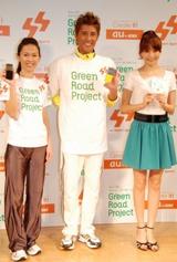 イベントには元マラソン選手・有森裕子氏(左)も参加