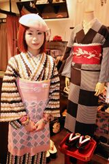 モダン着物の店『豆千代』が商業施設に初出店