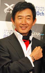 スター・チャンネルpresents「XIII サーティーン」特別試写会にゲストとして登場した石田純一