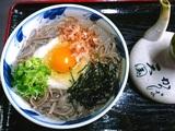 JR亀嵩駅「扇屋そば」で食べられる「山月そば」