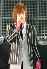 『BEST BOY OF 2008』を受賞したDAIGO