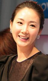 韓国ドラマ『スターの恋人』WOWOW放送記念来日記者会見に出席したチェ・ジウ