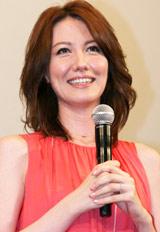 映画『イエスマン』特別試写会イベントに登場した山本モナ
