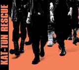 3/23付週間シングルランキングで初登場1位を獲得したKAT-TUNのシングル「RESCUE」(通常盤)