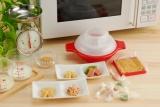 家庭用電子レンジで生キャラメルが作れる『生キャラメルポット』(タカラトミー) (c)2009 TOMY