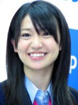 AKB48メンバー大島優子。(4月11日撮影)