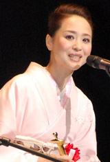 「第18回日本映画批評家大賞」授賞式に出席した松田聖子