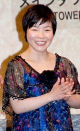 『よしもとプリンスシアター』のオープニングセレモニーに出席した山田花子
