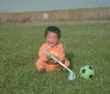 遼くん2歳。1993年1月撮影(C)ケーアイ企画