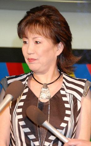 離婚会見時の西川峰子