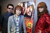全国ツアー中の合間にインタビューに応じたTHE ALFEEの(左から)桜井賢、坂崎幸之助、高見沢俊彦