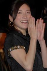 広末涼子(C)ORICON DD inc.【映画『GOEMON』の初日舞台あいさつにて】