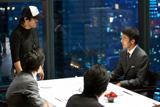 阿部寛が出演している『BANQUIC』第2弾CMメイキングカット
