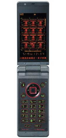 映画『ヱヴァンゲリヲン新劇場版:破』とNTTドコモとのコラボレート携帯電話『SH-06A NERV』