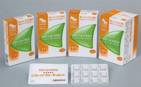 禁煙補助剤『ニコレット』初となるフルーツ味『ニコレット フルーティミント』