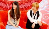 結婚後テレビで初共演したIZAM&吉岡美穂夫妻