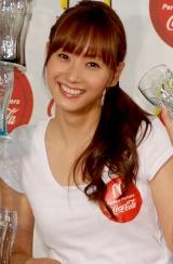 藤本美貴(C)ORICON DD inc.【日本マクドナルドと日本コカ・コーラの親善イベントにて】