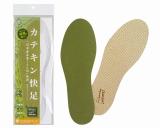 緑茶の茶葉を配合して作られた靴の中敷き『カテキン快足』