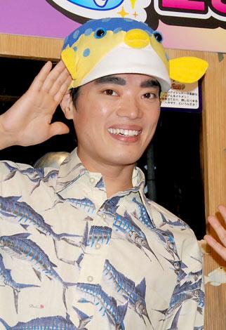 『よしもとおもしろ水族館』の特別企画発表記者会見に出席したさかなクン (C)ORICON DD inc.