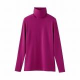 21日から早くも発売を開始するユニクロの『ヒートテック』 「タートルネックTシャツ(長袖)」(11色・同1500円)