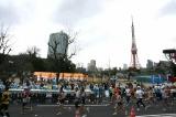 『東京マラソン2009』東京タワー付近
