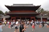 『東京マラソン2009』増上寺前 (C)TOKYO MARATHON