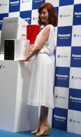 『パナソニック ナノイー空質商品群』新製品発表会に出席した、ともさかりえ (C)ORICON DD inc.